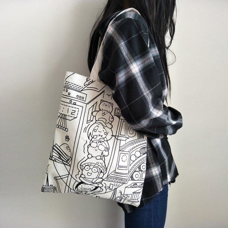 Canvas Shopping Bag 3