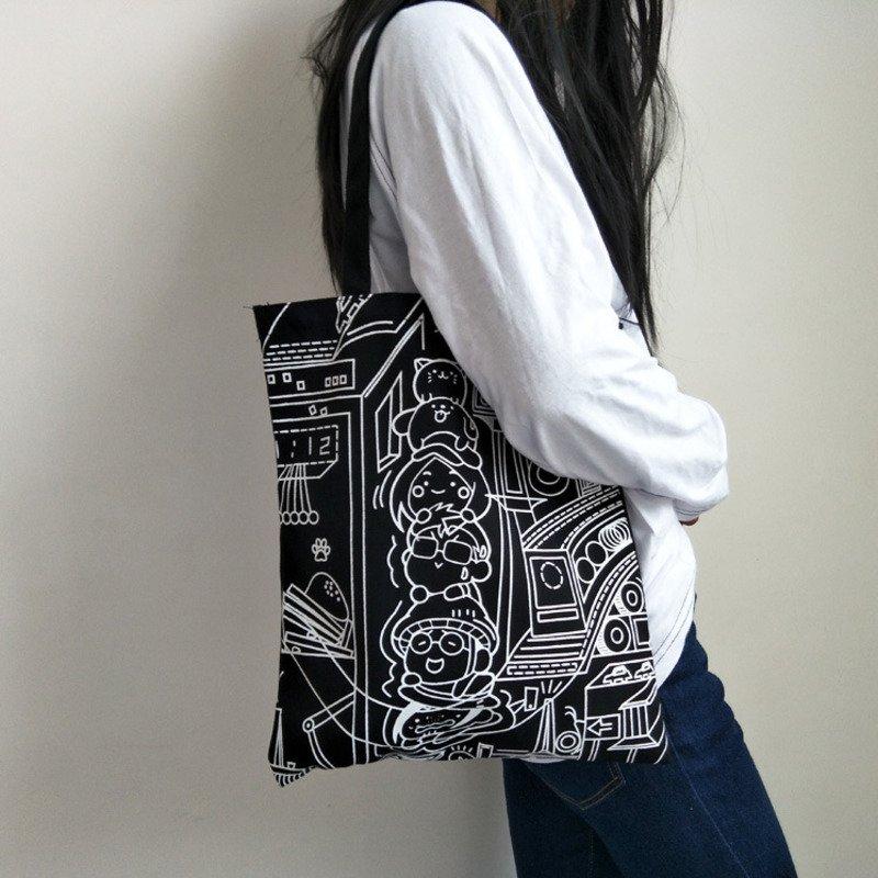 Canvas Shopping Bag 5