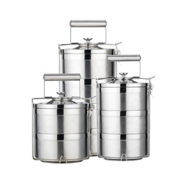 Bento Stackable Stainless Steel Lunchbox