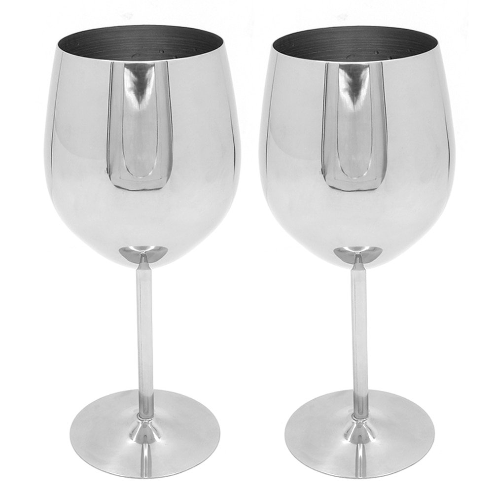 Stainless Steel Wine Glass 1