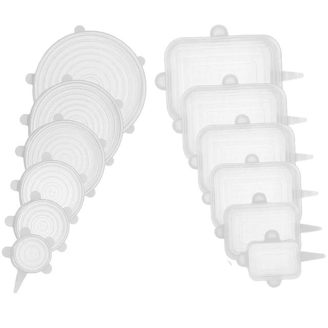 silicone stretch lid